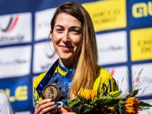 Беломоіна — бронзовий призер чемпіонаті Європи з крос-кантрі 2020 року