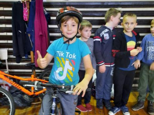 У Боратині змагалися юні велосипедисти