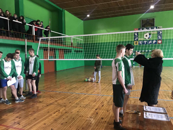 У Маневичах відбулись фінальні змагання з волейболу