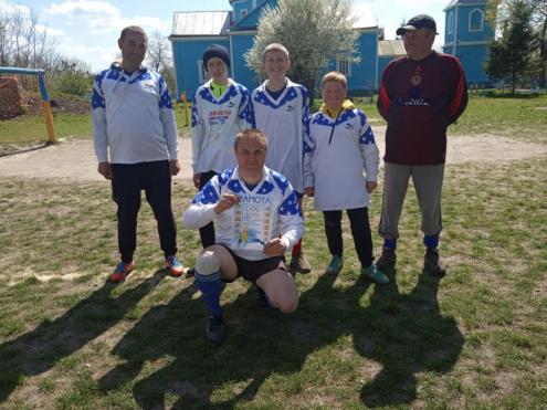 У школі села Сокіль відбулись змагання з футболу
