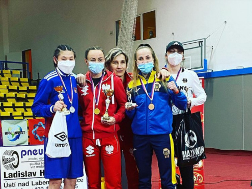 Ковельська боксерка Тетяна Коб здобула «бронзу» у Чехії
