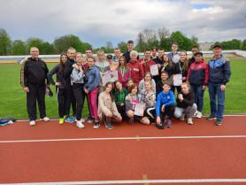 Ковельські легкоатлети успішно виступили в Нововолинську