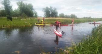 Юні веслувальники Привільненської громади