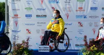 Марина Мажула з Ратнівщини здобула перше місце на чемпіонаті Європи з параканое