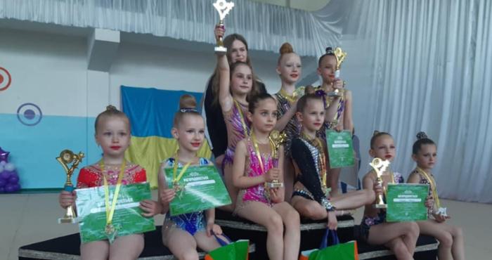 У Костополі відбувся Відкритий чемпіонат Костопільської міської територіальної громади з художньої гімнастики.