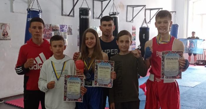 Дубровицькі боксери здобули п'ять нагород у Здолбунові
