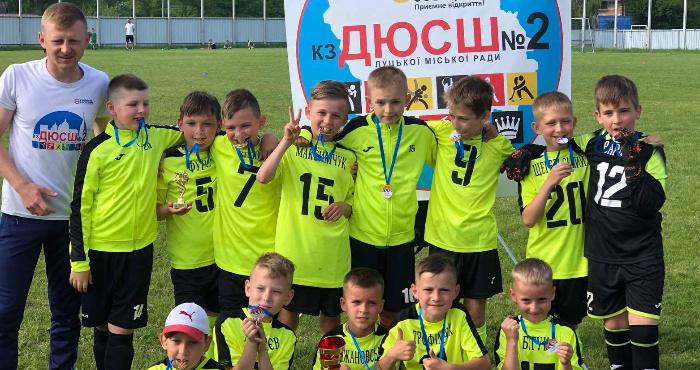 Футболісти з Луцька – володарі «Кубка Славська»