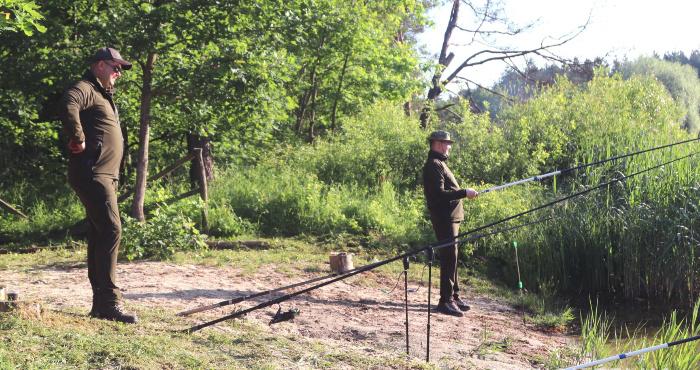 Полісмени Рівненщини змагалися у вправності рибної ловлі