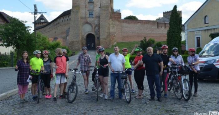 У Луцьку – велопробіг за участі незрячих людей «Бачу! Можу! Допоможу!»