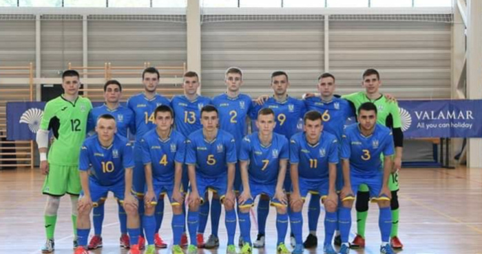Юнацька збірна України (U-19) переможно стартує на турнірі «Futsal Week»