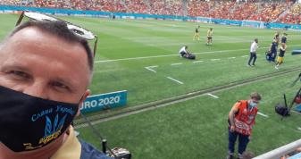 Рівняни підтримують національну збірну на Євро-2021. ФОТОФАКТ