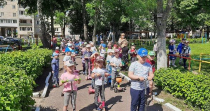 Рівненські дошкільнята взяли участь у спортивному святі