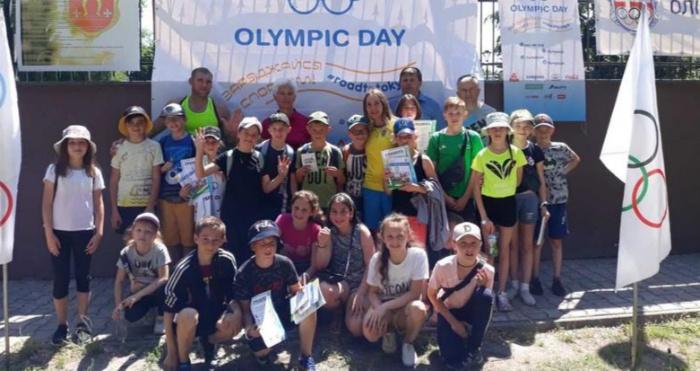 Для ковельських дітлахів провели Олімпійський день з Тетяною Коб