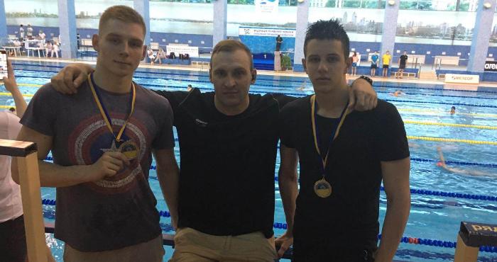 Волинські плавці здобули дві срібні медалі Чемпіонату України в Дніпрі