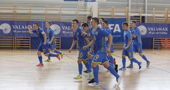 Юнацька збірна України здобуває бронзові нагороди турніру «Futsal Week»