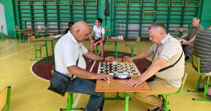До Дня міста у Сарнах провели Кубок Рівненської області з шахів.