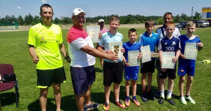 У Сарнах відбувся турнір з мініфутболу серед дворових команд