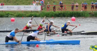 Волинський веслувальник у каное-двійці – у фіналі Чемпіонату Європи
