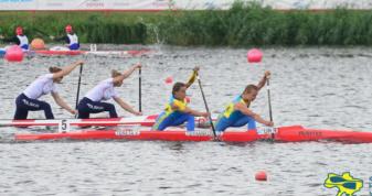Чемпіонат Європи в Познані. На дистанції Олена Циганкова і Валерія Терета