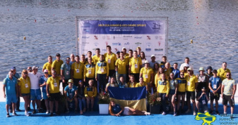 Збірна України завоювала 5 медалей на чемпіонаті Європи
