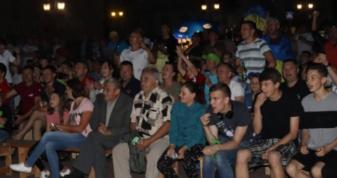 Вболівальники у Горохові