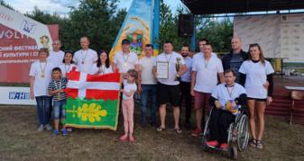 Команда Ківерцівської громади на спортивному фестивалі