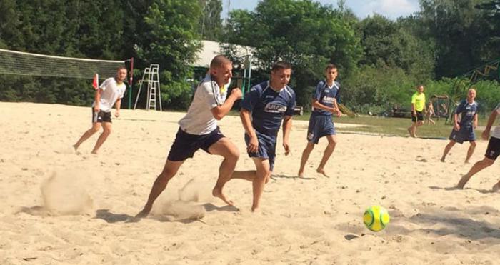 відбудеться Чемпіонат Рівненської області з пляжного футболу