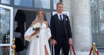 Колишній гравець «Волинь» Артем Шабанов одружився
