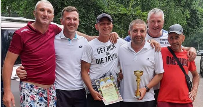 Команда Маневицької громади взяла участь у X турнірі з пляжного футболу серед ветеранів на Рівненщині