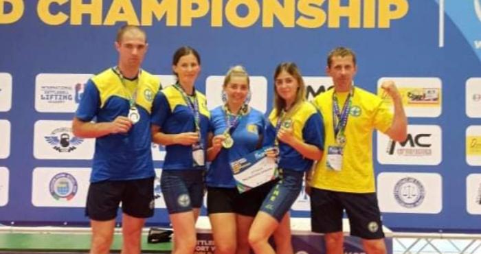 Рівненські гирьовики здобули медалі на Чемпіонаті світу