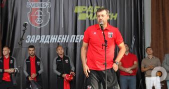 Юрій Вірт схарактеризував новачків команди