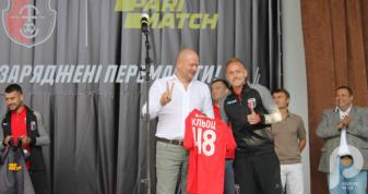 Дмитро Кльоц дебютував за «Верес» в офіційному матчі