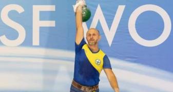 Вадим Рошканюк тріумфував Чемпіонаті світу з гирьового спорту за версією World Kettlebell Sport Federation (WKSF