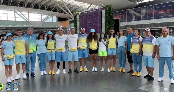 Волинські веслувальники вирушили до Токіо на Олімпійські ігри