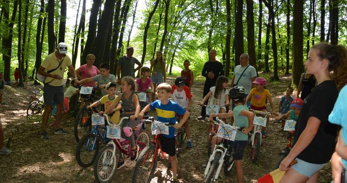 Велозмагання в Мукачеві