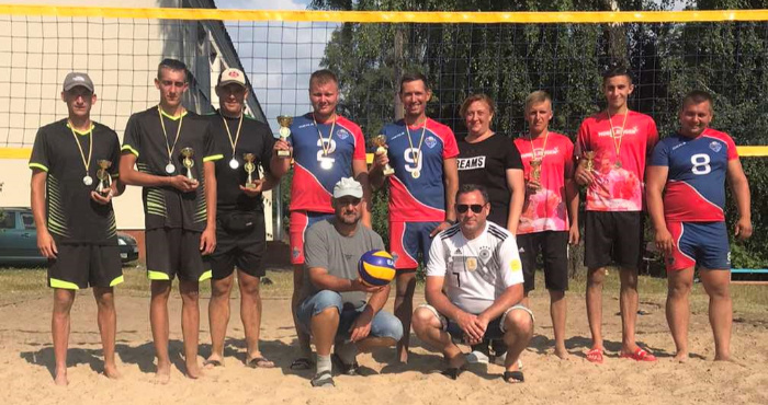 У Вільхівці пройшов турнір із пляжного волейболу