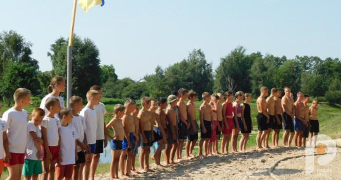 У Ратному відбулися змагання з пляжної боротьби