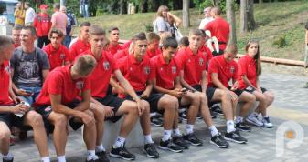 Троє вихованців вараського футболу виступає за юнацьку команду  «Вереса»