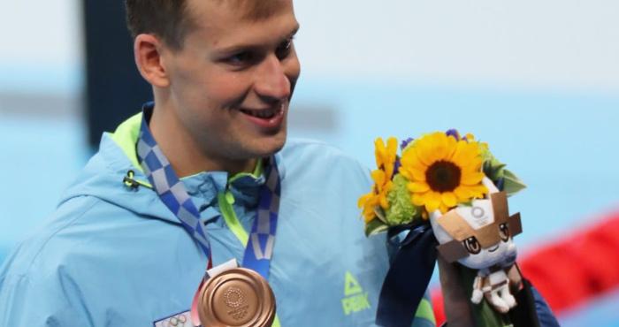 Михайло Романчук на Олімпійських іграх у Токіо завоював бронзову медаль