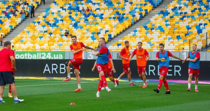 У матчі чемпіонів «Динамо» розгромило рівненський «Верес»