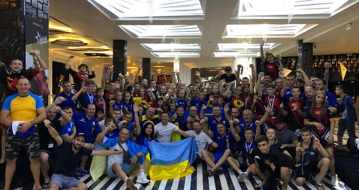 Збірна України з ММА виступила на Чемпіонаті світу. В українців - перше загальнокомандне місце