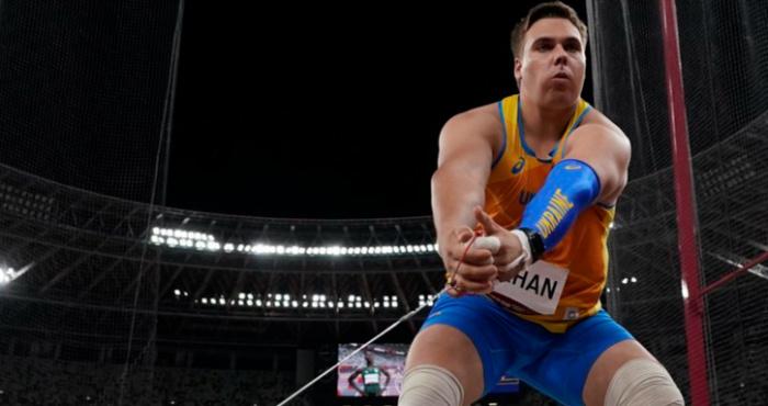 Український метальник молота Михайло Кохан зупинився, без перебільшень, за метр до олімпійської медалі.