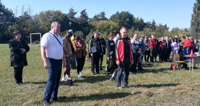 У Горохівському коледжі студенти пробігли крос