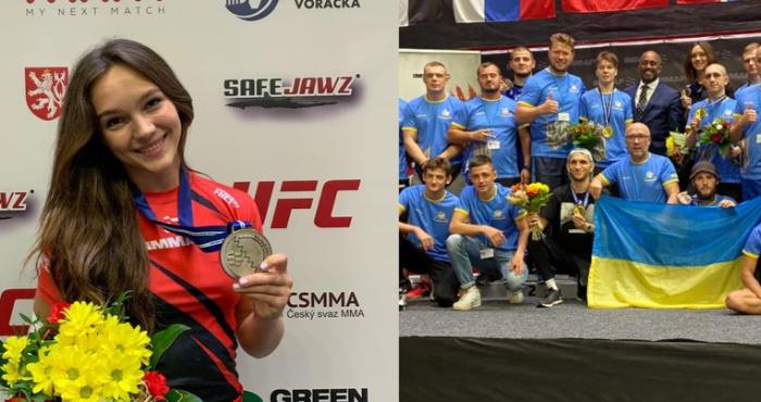 Маріанна Скуба з Мукачева здобула бронзову медаль на Кубку світу зі змішаних єдиноборств ММА, який проходив у Празі.