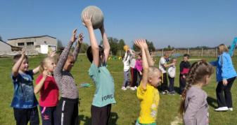 Спортивні змагання у Новій Вижві