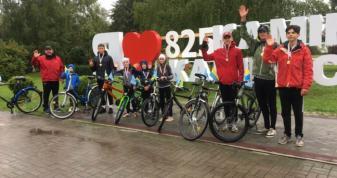 У Камені-Каширському відбувся велопробіг «Рідне місто 825»
