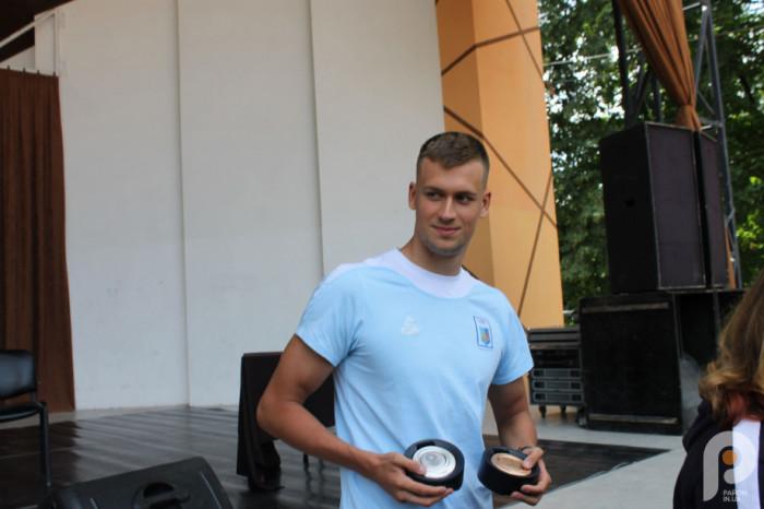 Михайло Романчук - рівненський олімпієць
