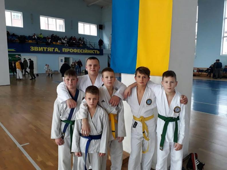 Спортсмени з Луцька на турнірі