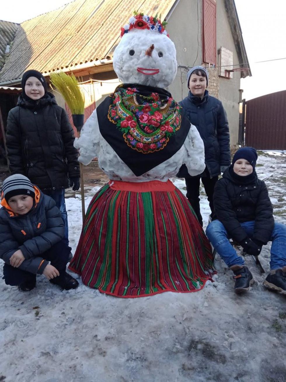 Українські сніговики