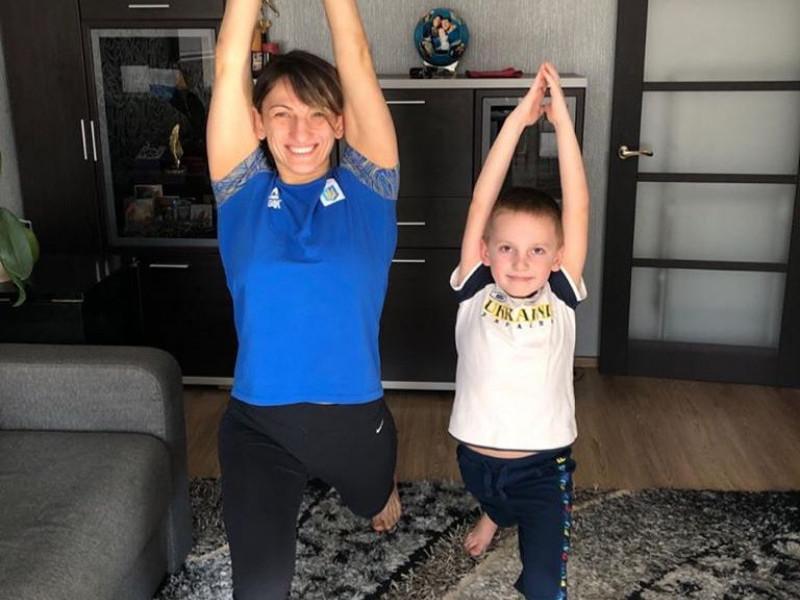Юлія Ткач з сином